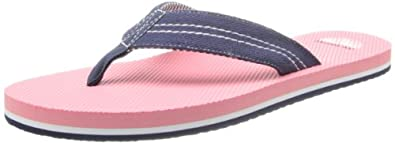 New Balance Men's Surfside Thong Sandal,Navy,7 D US