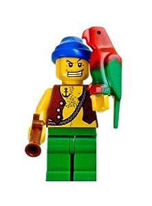 LEGO PIRATES Pirate with Flintlock Gun & Parrot Minifigure