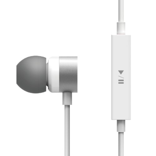 Elago E502M Control Talk In-Ear Earphones - White/White, Carrying Case Included (Compatible With Iphone 5,4/4S,3G/3Gs,Galaxy. Control-Talk With Built In Microphone)