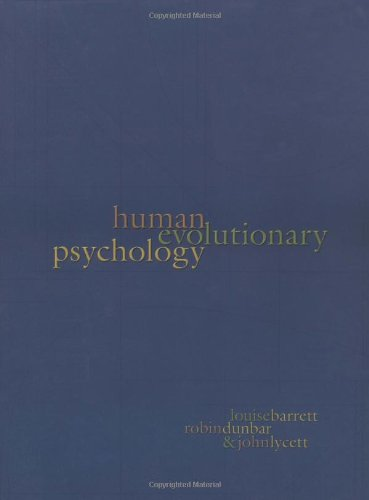Human Evolutionary Psychology