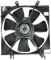 TYC 600730 Kia Replacement Radiator Cooling Fan Assembly by TYC