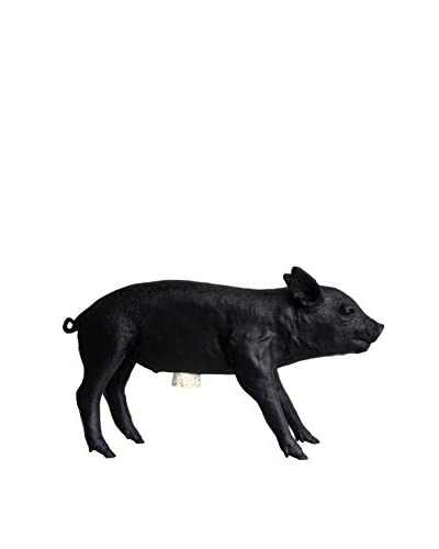 Areaware Bank In The Form of A Pig, Black