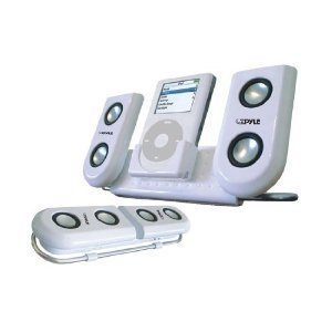 Pyle Home PIP10 Portable Speaker System for iPod and Other MP3 Player