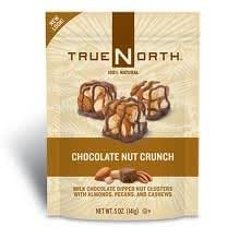 TRUE NORTH Chocolate Nut Crunch, 5-Ounce (Pack of 6)