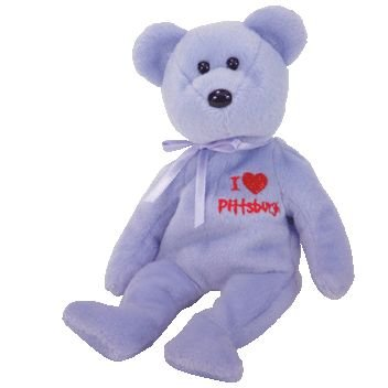 TY Beanie Baby - PITTSBURGH the Bear (I Love Pittsburgh - Show Exclusive)