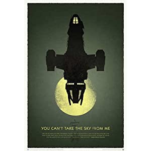 (27x40) Firefly 10th Anniversary - You Can't Take the Sky from Me TV Poster