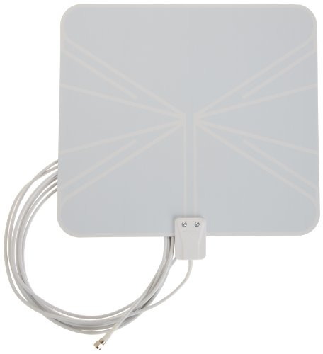 Find Discount AmazonBasics High Performance Ultra Thin Indoor HDTV Antenna -Made in USA