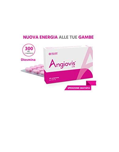 Angiovis 45 compresse Gambe Gonfie Gambe Pesanti Gambe Stanche Insufficienza Venosa Emorroidi Polaris Farmaceutici
