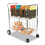 ALEMC343722CR - Wire Mail Cart
