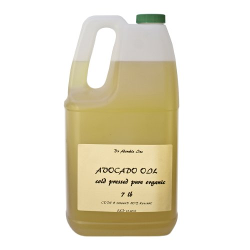 Avocado Oil Organic Cold Pressed 100% Pure 7 Lb/1 Gallon