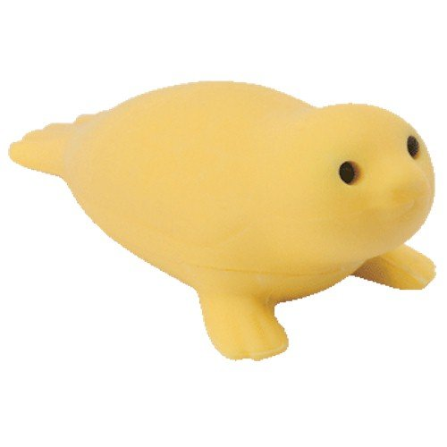 Ty Beanie Eraserz - Seamore the Seal Yellow - 1