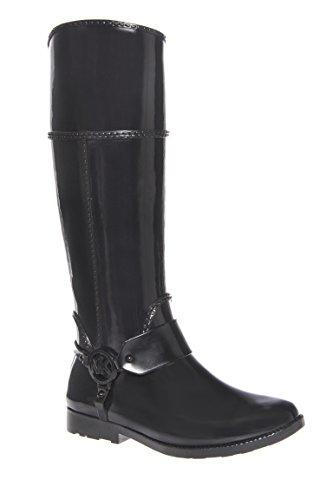 Fulton Harness Low Heel Tall Rain Boot