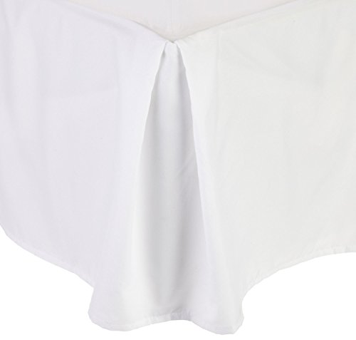 White Bed Skirts Queen front-648745