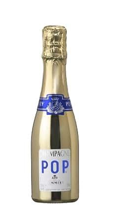 Champagne Pommery Gold Pop Disco Piccolo (1 x 0.2 l)