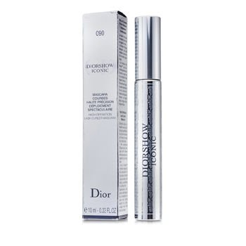 CHRISTIAN DIOR by Christian Dior DiorShow Iconic High Definition Lash Curler Mascara - #090 Black --10ml/0.33oz (Extreme Big Curls compare prices)