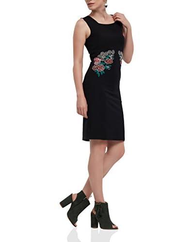 IRONI Vestido Negro