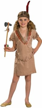 Toddler Indian Girl Costume (Size: 3-4T)