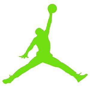 amazoncom air jordan nike jumpman logo vinyl sticker