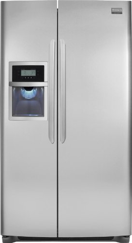 Frigidaire Gallery FGHC2345LF 22. 6 cu. ft. Counter-Depth Side By Side Refrigerator - Stainless St