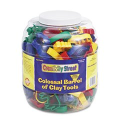 * Colossal Barrel of Clay Tools, 144 Cutters in 24 Designs, Five Tools i