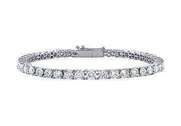 Diamond Tennis Bracelet Platinum 1.50 CT Diamonds