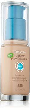 Covergirl Outlast Stay Fabulous 3-in-1 Foundation Natural