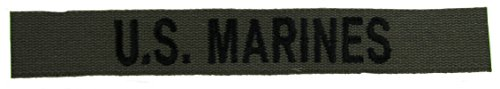 U.S. MARINES OD Branch Tape Olive Drab Branch