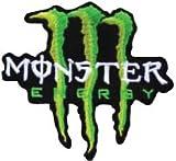アイロンワッペン【MonsterEnergy】 モンスターエナジー ロゴワッペン
