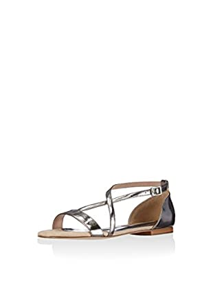 Buffalo London Sandalias planas (Plateado)