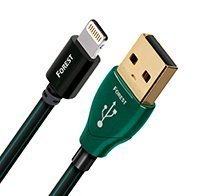 AudioQuest Forest .75m (2.5 ft. ) Lightning to USB A Cable for iPod/iPhone/iPad