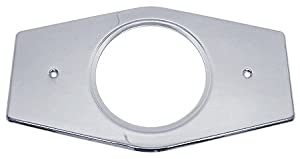 1-Hole Tub/Shower Wall Converter/Remodel Plate in Polished