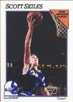 Scott Skiles Orlando Magic 1991 Hoops Autographed Hand Signed Trading Card. by Hall+of+Fame+Memorabilia