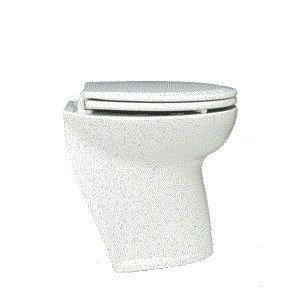Jabsco -  58020-1012 Marine Marine Deluxe Flush Slant Back Electric Toilet With Solenoid Valve (12-Volt, 25-Amp) - Jabsco at Sears.com