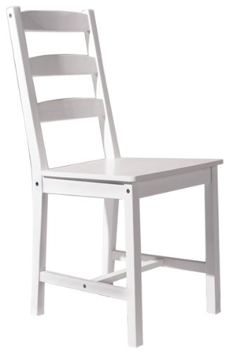 Links Claudia Dining Room Chair, Pine White