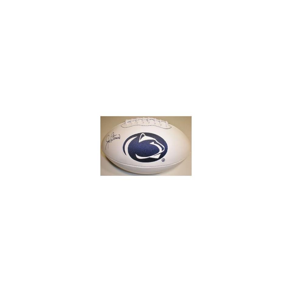 Joe Paterno Hand Signed Autographed Penn State Fullsize Football