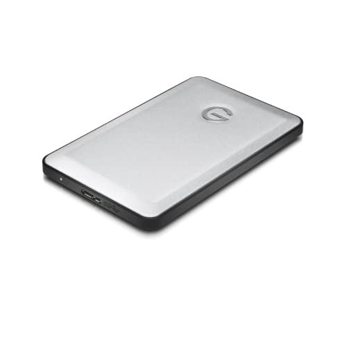 G-Technology (HGST) G-DRIVE slim 500GB USB3.0対応 外付けポータブルハードディスク 【3年保証】 0G02752