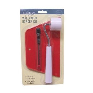 Wallpaper Tool Kit with Knife, Smoother and Roller