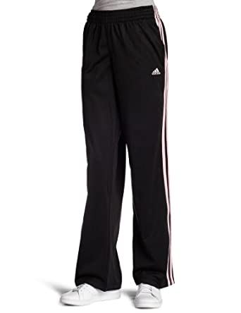 adidas Women's 3-Stripes Pant (Black, Diva, X-Small)