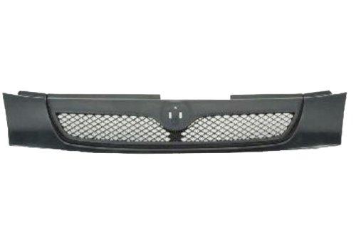 Black Nylon Carpet Coverking Custom Fit Front Floor Mats for Select Mazda Protege Models