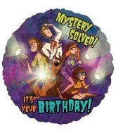 "18"" Scooby Doo Birthday Mystery Solved! - 1"
