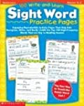 100 Write-And-Learn Sight Word Practi...