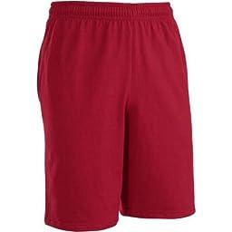 Fruit of the Loom Men\'s Jersey Short (3XL, Cardinal)