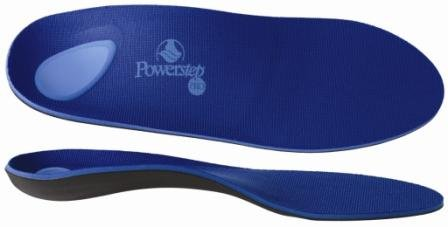 POWERSTEP PROTECH SUPPORT SIZE F WOMEN 11 to 11.5 MEN 9 to 9.5