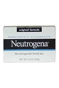 Neutrogena Original Formula Transparent Facial Soap Bar 100g 3.5OZ