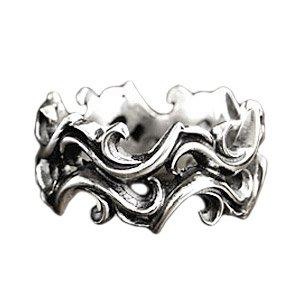 シルバーリング 指輪 メンズ シルバーアクセサリー アラベスク タトゥー r0591