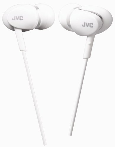 Jvc- Ha-Fx67-We Marshmallow Headphones With Brushed Aluminium Effect - White