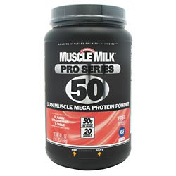 Cytosport Muscle Milk Pro Series Protein Powder, Slammin' Strawberries N Creme, 2.54 Pound