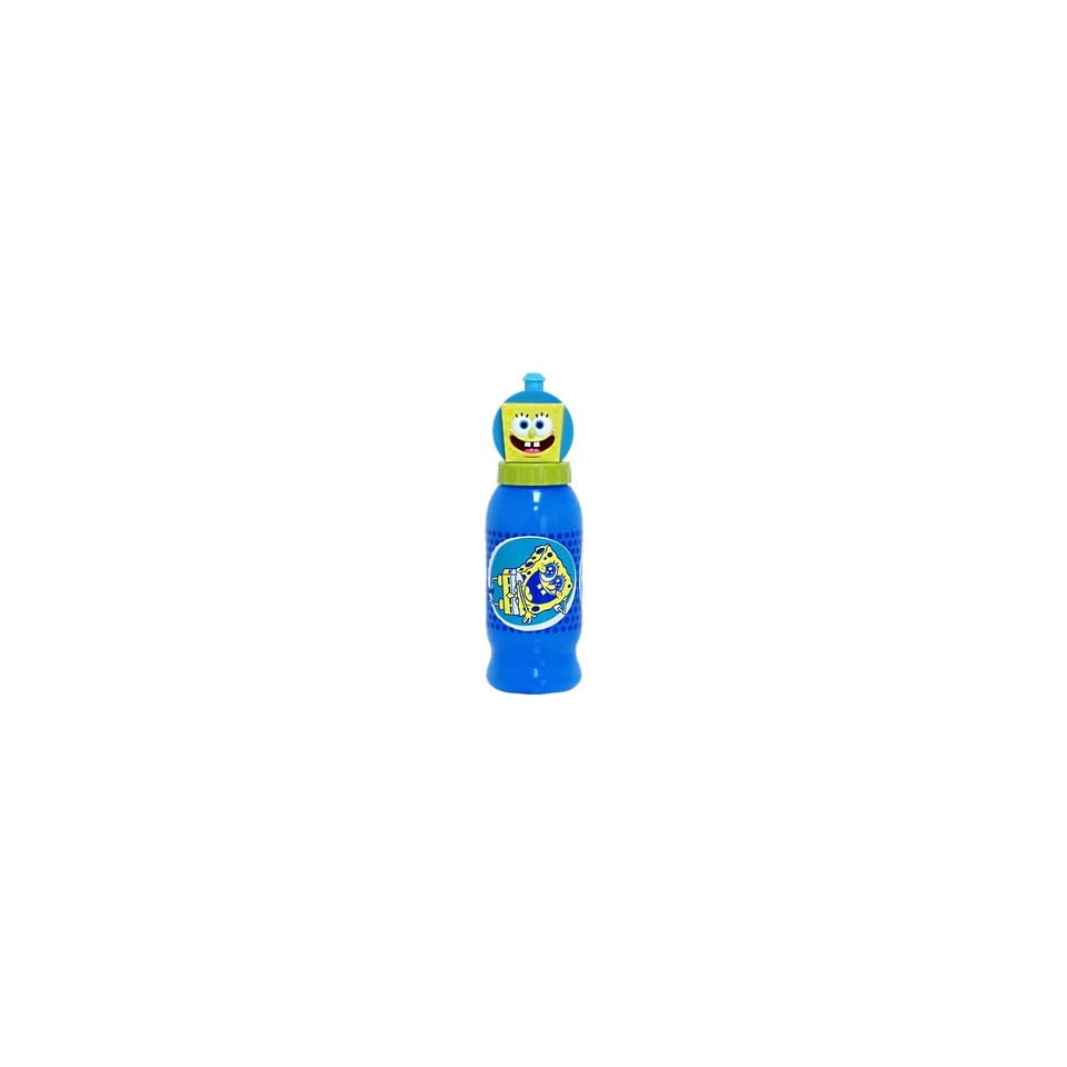 Spongebob Squarepants Squeeze N Sip Bottle