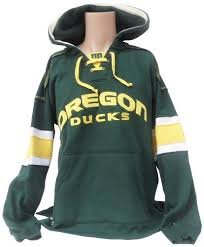 Officially Licensed by NCAA Oregon Ducks Green Hockey Pullover Hoodie