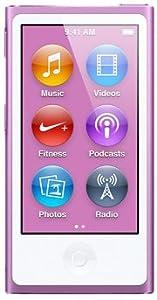 最新モデル 第7世代 Apple iPod nano 16GB パープル MD479J/A